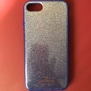 Kate pads sparkly iPhone 7/7s case